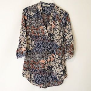 Liberty Love Floral Popover Top